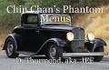 Chin Chan's Phantom Menus