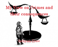 My View on Crimes and their consequences