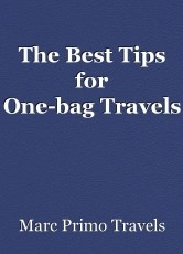 The Best Tips for One-bagTravels