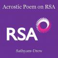 Acrostic Poem on RSA