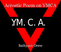 Acrostic Poem on YMCA