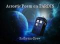 Acrostic Poem on TARDIS