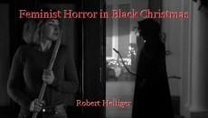 Feminist Horror in Black Christmas
