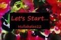Let's Start...