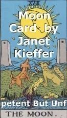 Moon Card  by Janet Kieffer