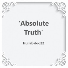 'Absolute Truth'