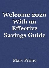 Welcome 2020 With an Effective Savings Guide