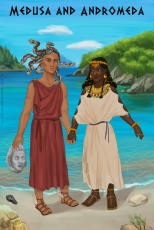 Medusa and Andromeda of Aethiopia