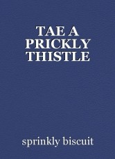 TAE A PRICKLY THISTLE
