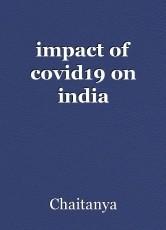 impact of covid19 on india