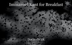 Immanuel Kant for Breakfast