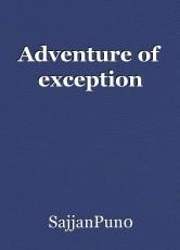 Adventure of exception