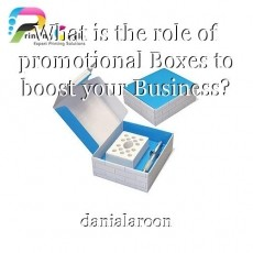 What is the role of promotional Boxes to boost your Business?