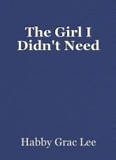 The Girl I Didn't Need