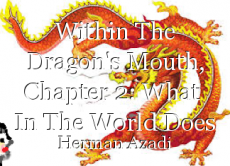Within The Dragon's Mouth, Chapter 2: What  In The World Does This Mean?