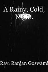 A Rainy, Cold, Night.