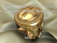 pastors magic ring for doing miracles+27606842758,usa,ukswaziland,canada.