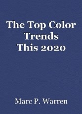 The Top Color Trends This2020