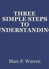 THREE SIMPLE STEPS TO UNDERSTANDING ART