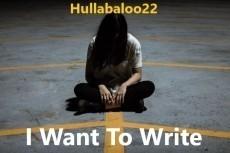 I Want To Write