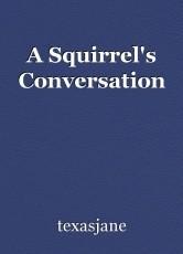 A Squirrel's Conversation