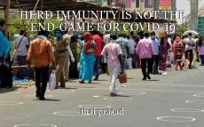 HERD IMMUNITY IS NOT THE END-GAME FOR COVID-19