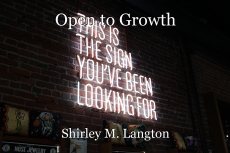 Open to Growth