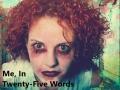 Me, In Twenty-Five Words