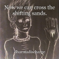 Now we can cross the shifting sands.