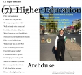 (7)  Higher Education