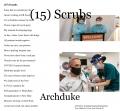 (15) Scrubs