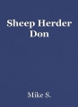 Sheep Herder Don