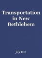 Transportation in New Bethlehem