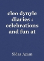 cleo dynyle diaries : celebrations and fun at school
