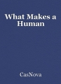 What Makes a Human