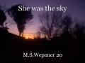 She was the sky