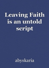 Leaving Faith is an untold script