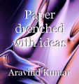 Paper drenched with ideas
