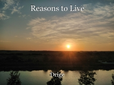 Reasons to Live