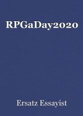 RPGaDay2020