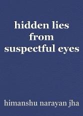 hidden lies from suspectful eyes