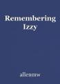 Remembering Izzy