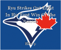 Ryu Strikes Out Eight In His First Win Of The Season