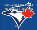 Jays Loses Series With Markakis's Home Run