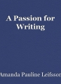 A Passion for Writing