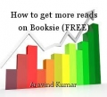 How to get more reads on Booksie (FREE)
