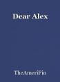 Dear Alex