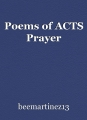 Poems of ACTS Prayer