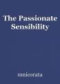 The Passionate Sensibility