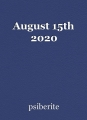 August 15th 2020